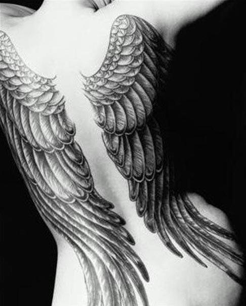 Aile Ange Tatouage ailes-d-ange-tatouage - ailes d'anges - _frog_ - photos - club