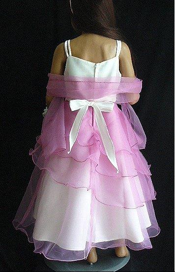 Robe de demoiselle d'honneur modèle 1