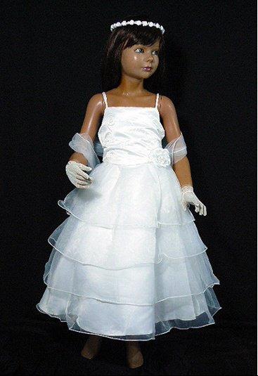 Robe de demoiselle d'honneur modèle 2, existe en ivoire