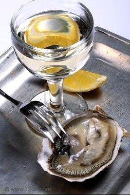 huitre vin et citron