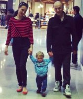 akil et ses parents mai 2013