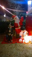 Akilou, Jida et le papano - 24 decembre 2014