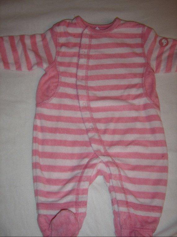 pyjama raye 3 mois