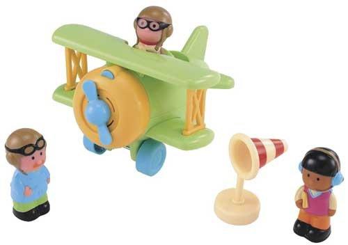 avion happyland avec les personnages sauf le panneau 6E tbe