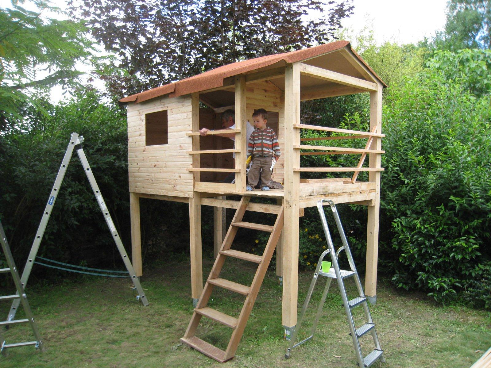 Construire Soi Meme Une Cabane En Bois faire une cabane enfant soi même, des idées ? - mamans