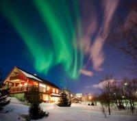 aurores boréales en Norvège