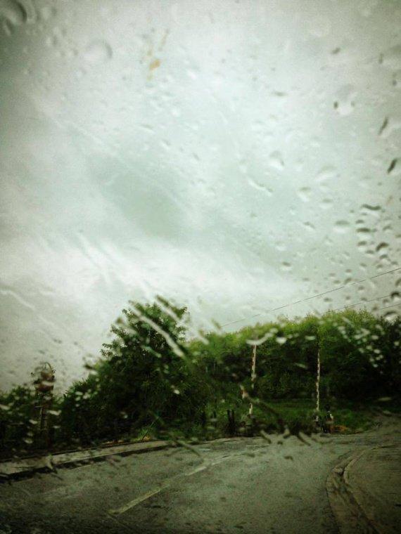 Bon après-midi même avec la pluie