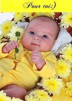 Magnifique bébé