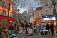 PARIS Place du Tertre