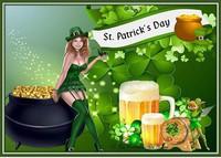 Saint patron de l'Irlande