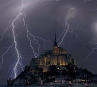 sur le Mont St-Michel