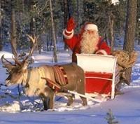 Le père Noël est en route !