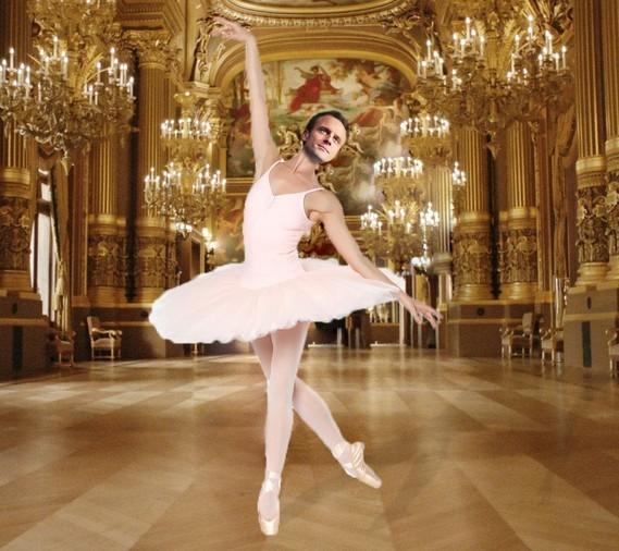 en visite à l'Opéra de Paris