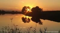 Coucher de soleil dans le Cotentin