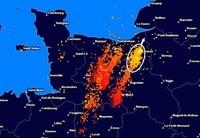 Les impacts d'orages cette nuit
