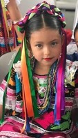 Petite fille mexicaine