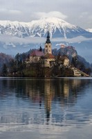 Lac Le Bled en Slovénie