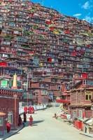 Ville du Tibet