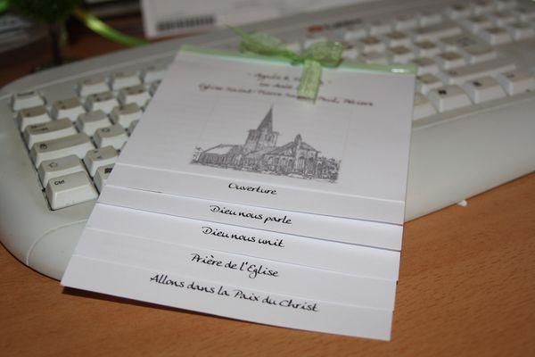 exemple livret messe alerter les modrateurs voir limage au format original - Exemple Livret De Messe Mariage