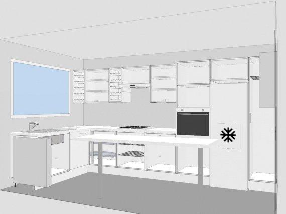 3d sans les portes ma cuisine lodilodi photos for Construire ma cuisine en 3d