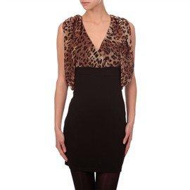 exemple 7 robe bimatière léopard morgan de toi