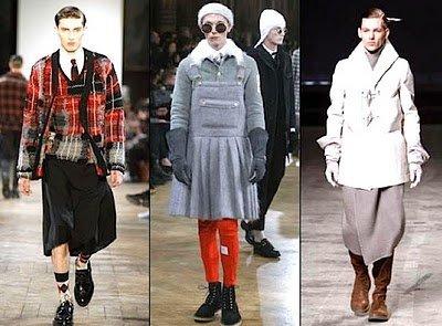 Jupes et robes pour homme