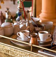 Café au parfun de la fleur d'oranger