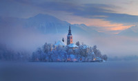Bled-Slovénie