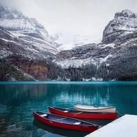 Lac o' Hara-Colombie Britannique-Canada
