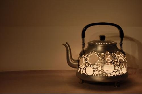 lampe theiere