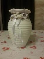 Vase shabby chic