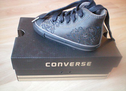converse fille taille 21
