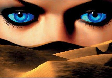 planète regard bleu