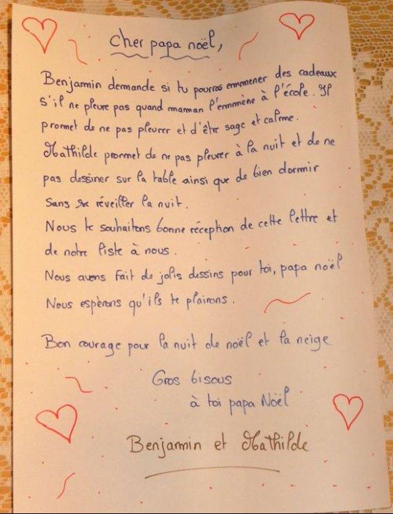 Lettres et dessins au père noel 2009 002