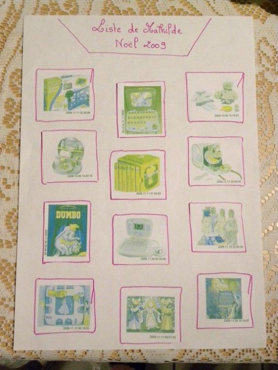 Lettres et dessins au père noel 2009 009