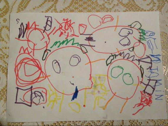 Lettres et dessins au père noel 2009 012