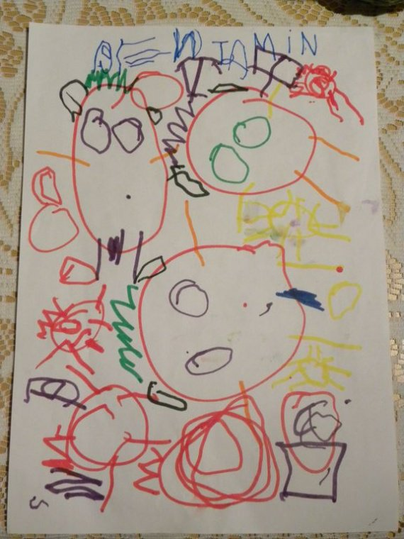 Lettres et dessins au père noel 2009 013