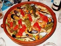 Risotto aux fruits de la mer à la catalane