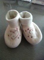 Chaussons naissance 0/3 mois - 1 €