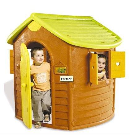 A celles qui ont la maison jura lodge de smoby amiens for Maisonnette smoby occasion