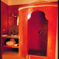 Salle de bain mauresque