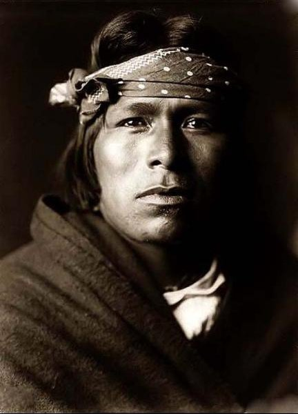 Acoma brave-1905 by Edward S.Curtis
