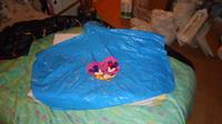DSC00158 cape plastique bleu mickey-minnie