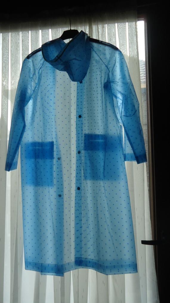 DSC00900 imper bleu à poix