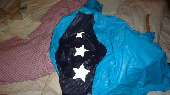 DSC02152 cape plastique super hero