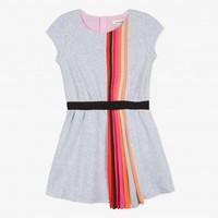 robe-maille-avec-plisse-rainbow