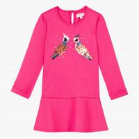 robe-milano-fuchsia-a-visuel-sequins-oiseaux