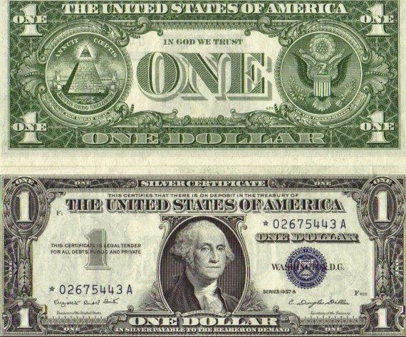 SilverCertificate1Dollar