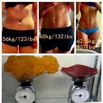 muscle is heavier than fat