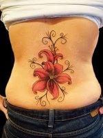 Lily Flower Tattoo-3569859267_d97517459d - Copie